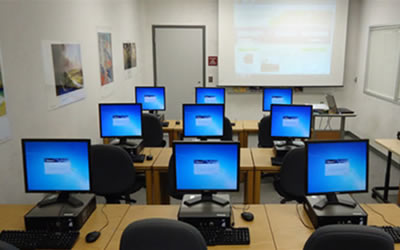 Classroom computer training for individuals