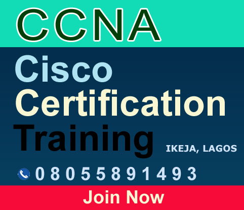 Cisco CCNA 200-391 certification training in Ikeja, Lagos